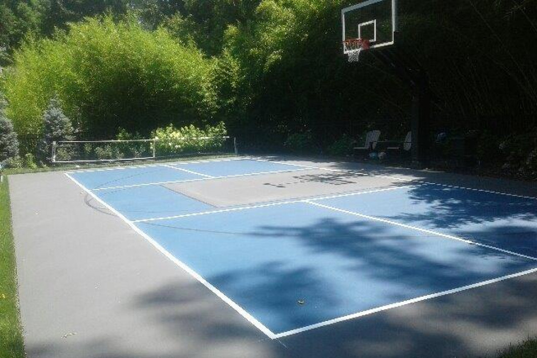 Install the Basketball Court You've Always Wanted